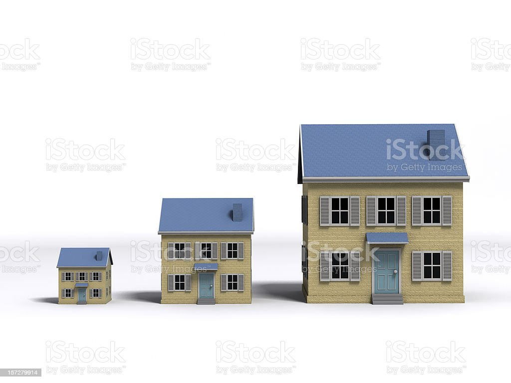 Housing Growth stock photo
