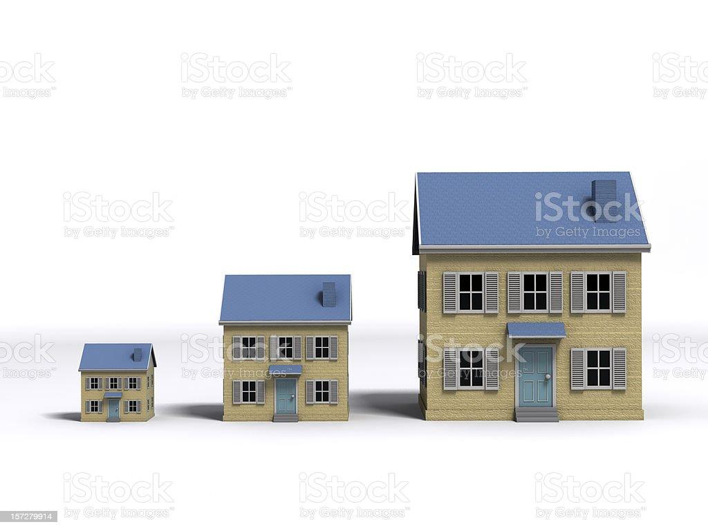Housing Growth stock photo