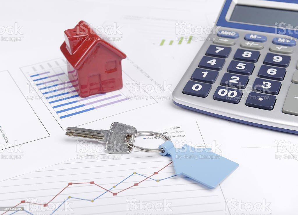 Housing market concept stock photo