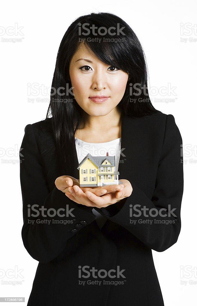 Housing market royalty-free stock photo