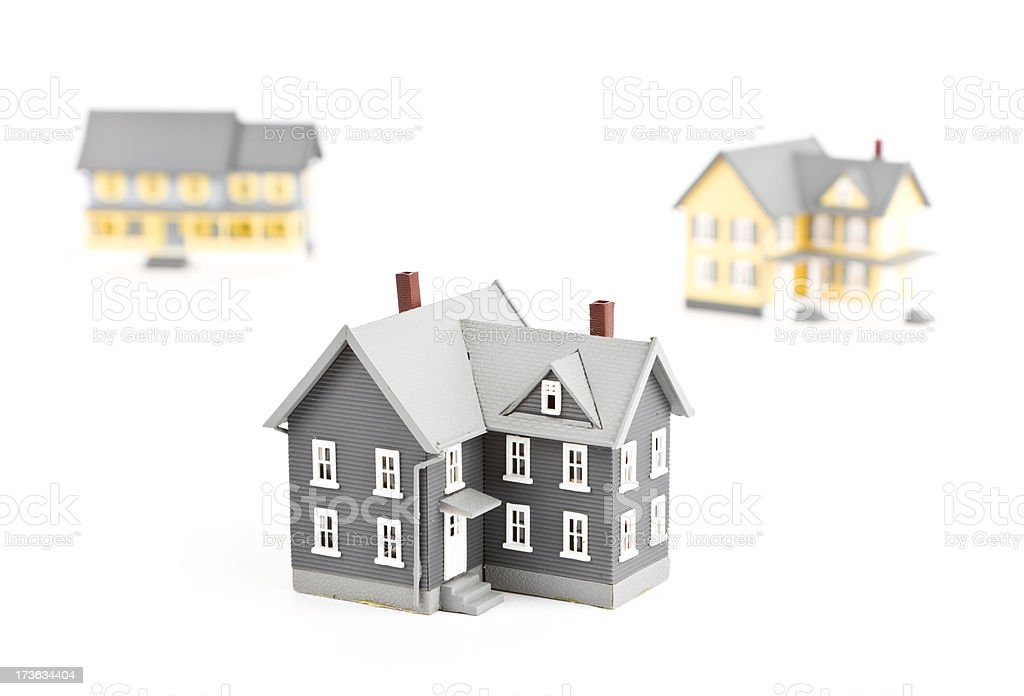 Housing market royalty-free stock photo