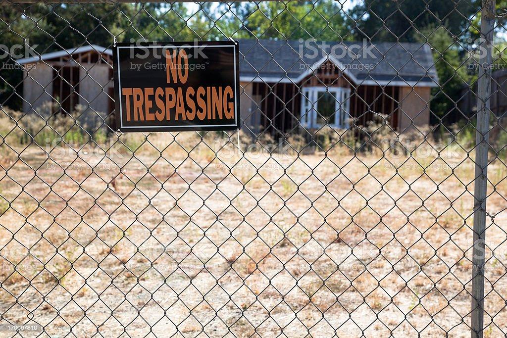 Housing Market Slump stock photo