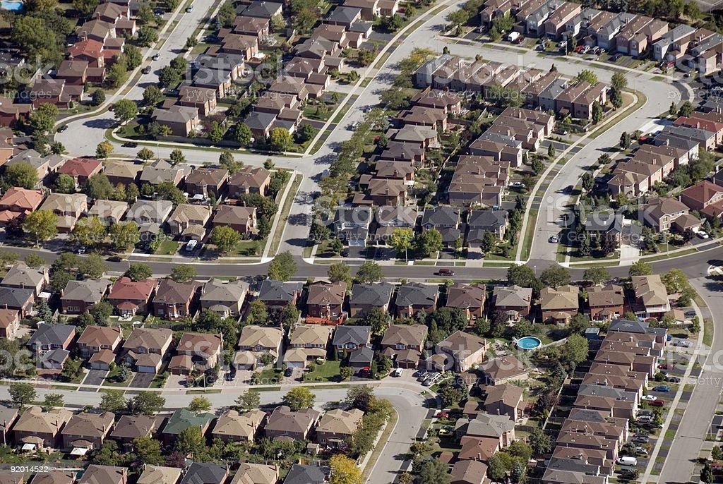 Housing Patterns royalty-free stock photo