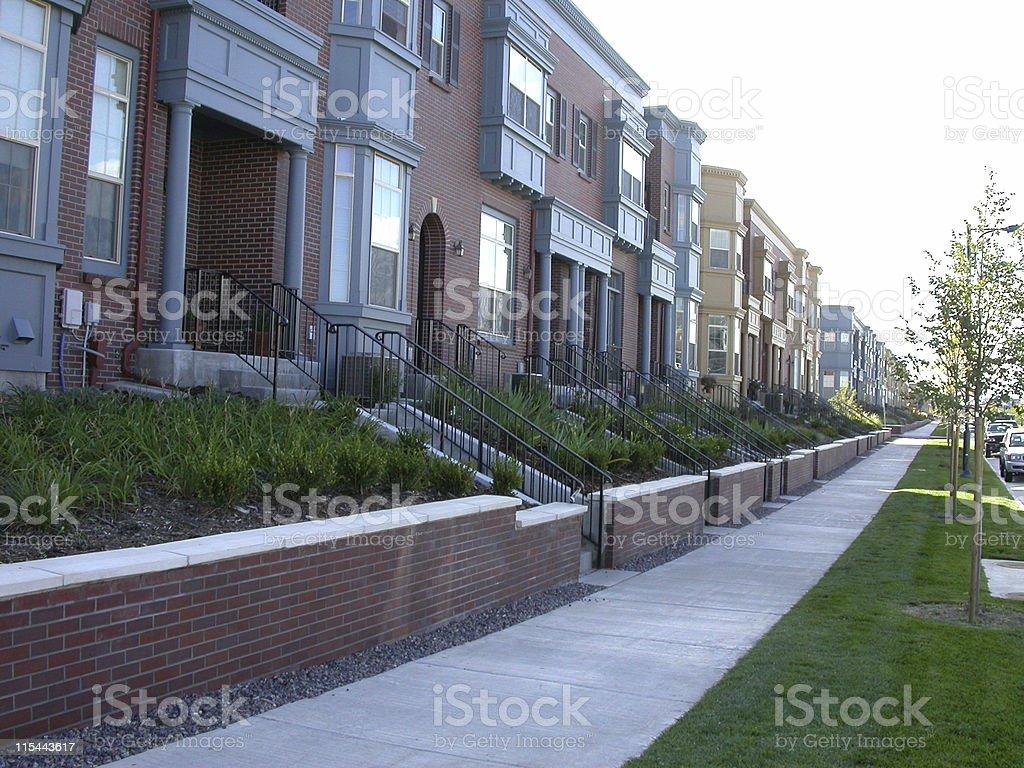 Housing - Townhome/Condos stock photo