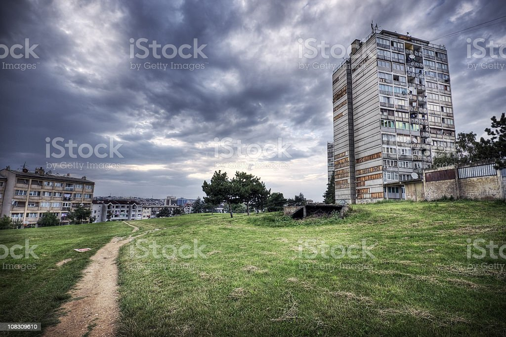 Housing Trouble royalty-free stock photo