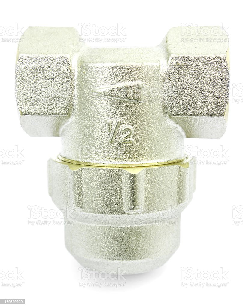 Housing water filter royalty-free stock photo