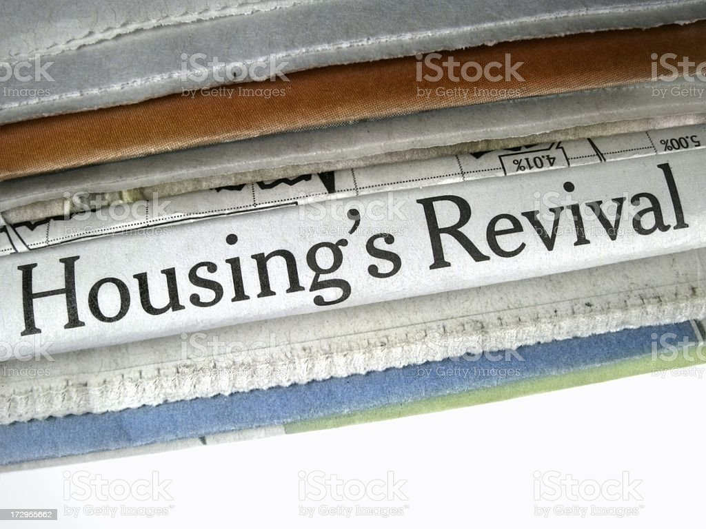 Housing's Revival royalty-free stock photo