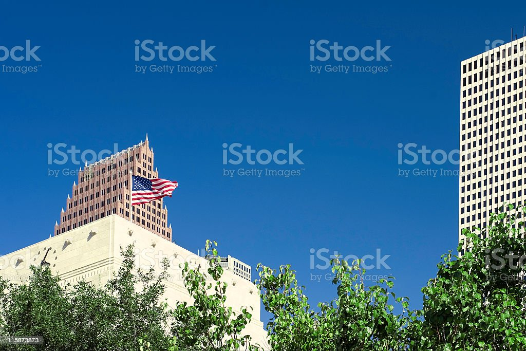 Houston Skyscrapers 1 royalty-free stock photo