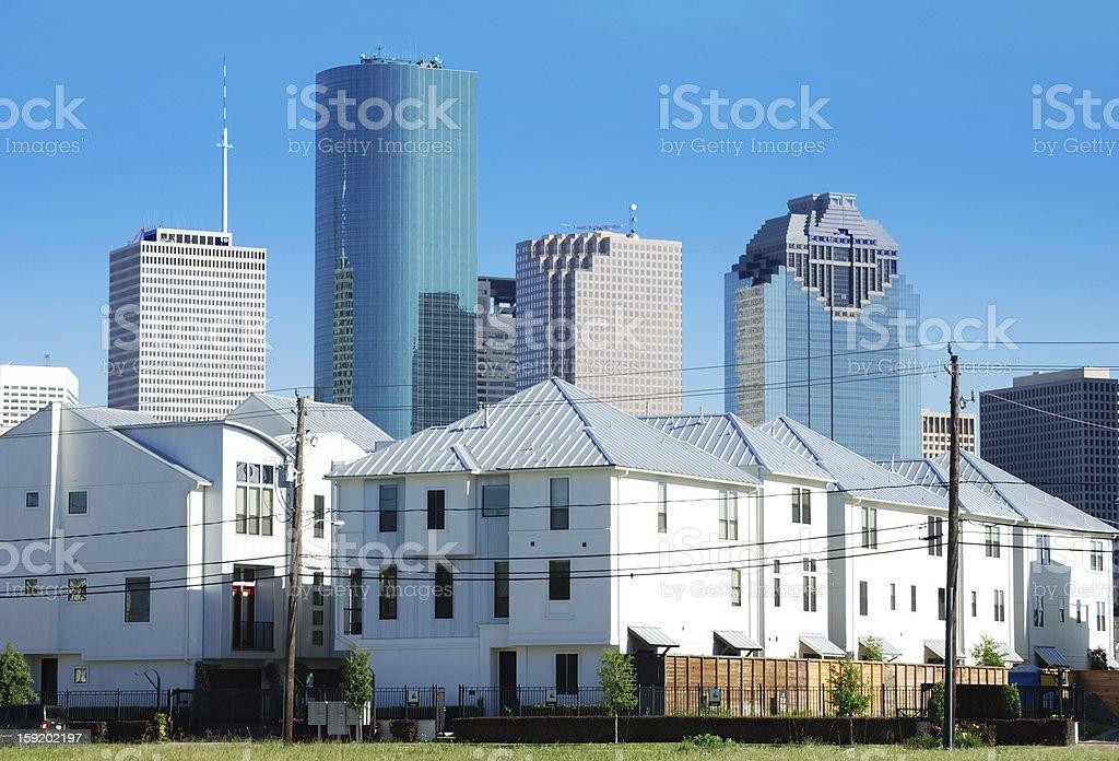 Houston, Texas royalty-free stock photo