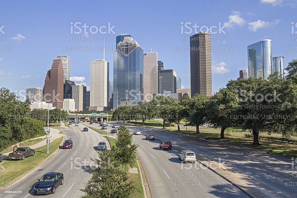 Houston, Texas USA royalty-free stock photo