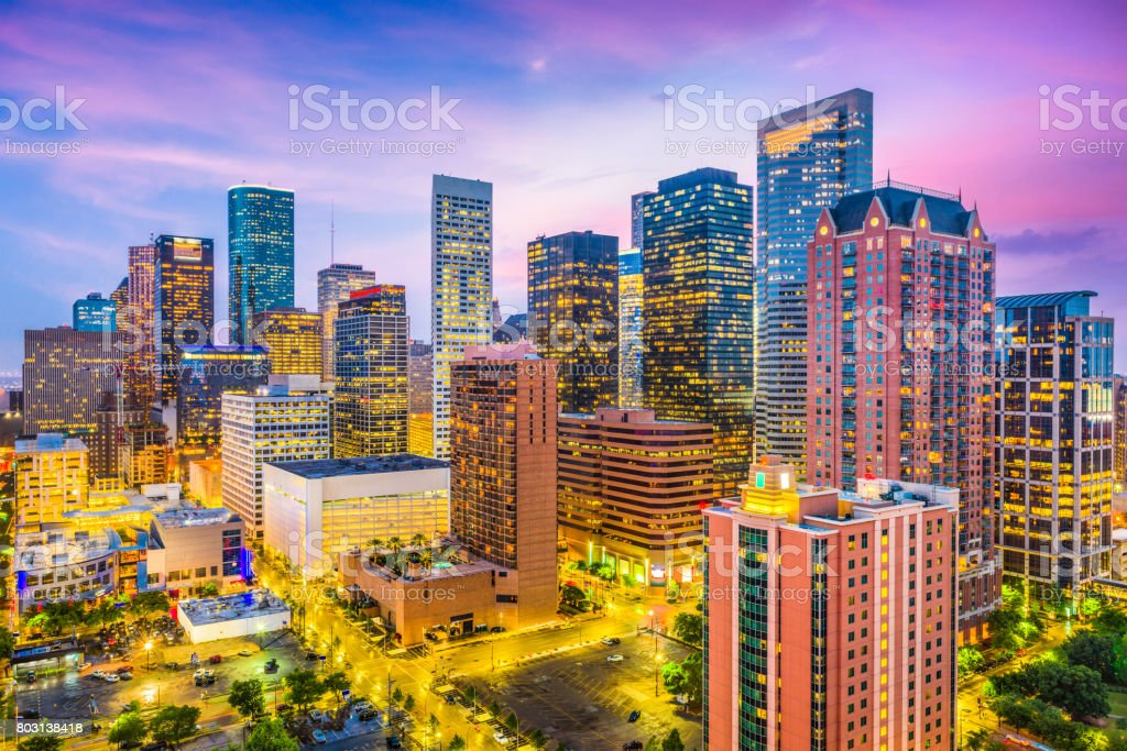 Houston, Texas, USA stock photo