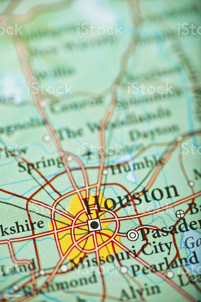 Houston, TX royalty-free stock photo