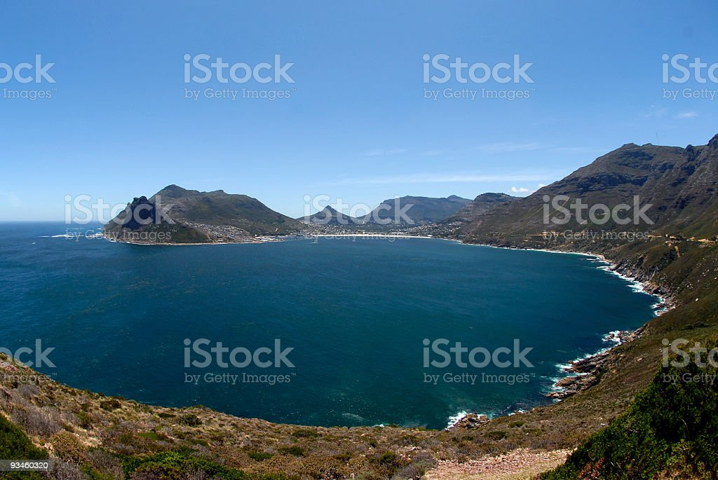 hout bay, cape town stock photo