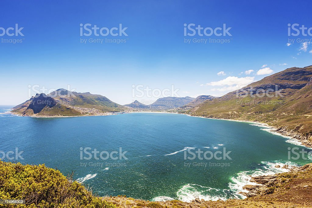 Hout Bay Cape Town South Africa Coastline stock photo
