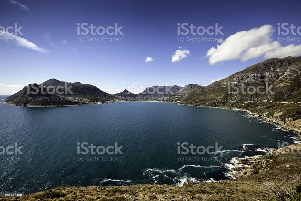 Hout Bay, Cape Town, South Africa royalty-free stock photo