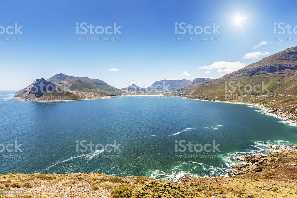 Hout Bay Cape Town South Africa stock photo