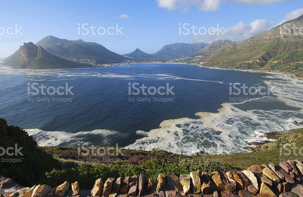 Hout Bay Chapmans stock photo