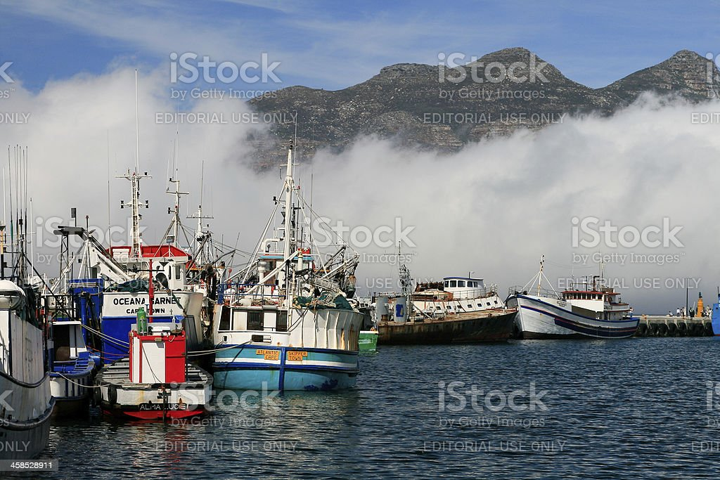 Hout Bay in Cape Town, South Africa royalty-free stock photo