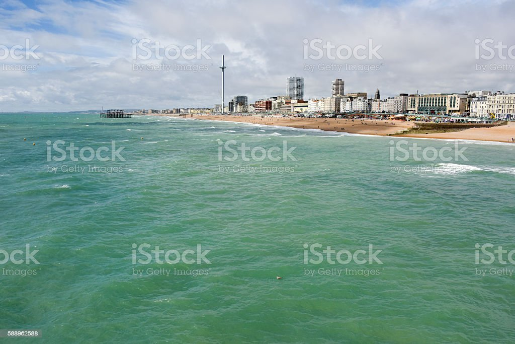 Hove and the i360 stock photo