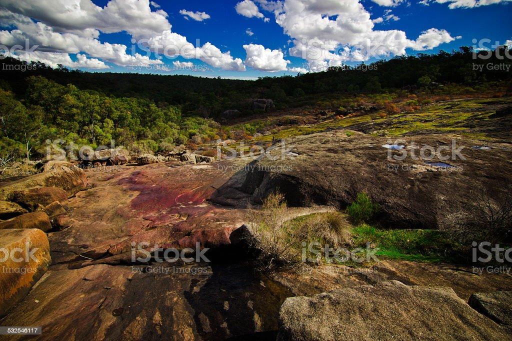 Hovea Falls, Perth, Western Australia stock photo