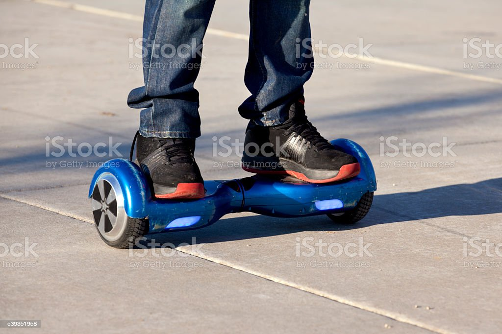Hoverboard stock photo