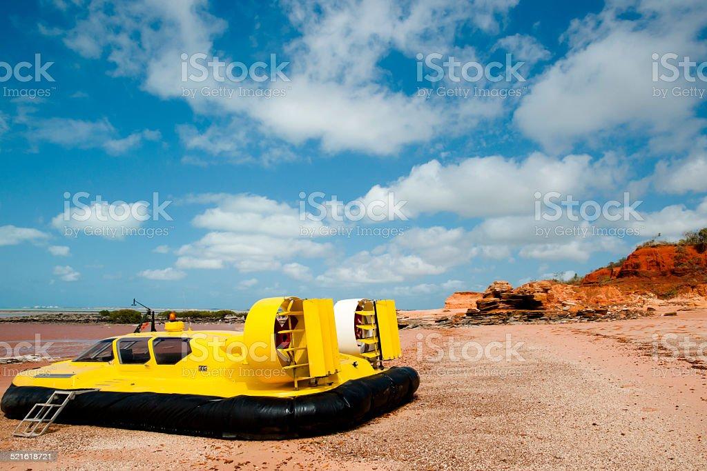 Hovercraft - Broome - Australia stock photo