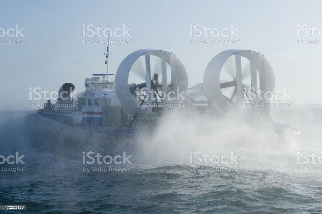 Hovercraft stock photo