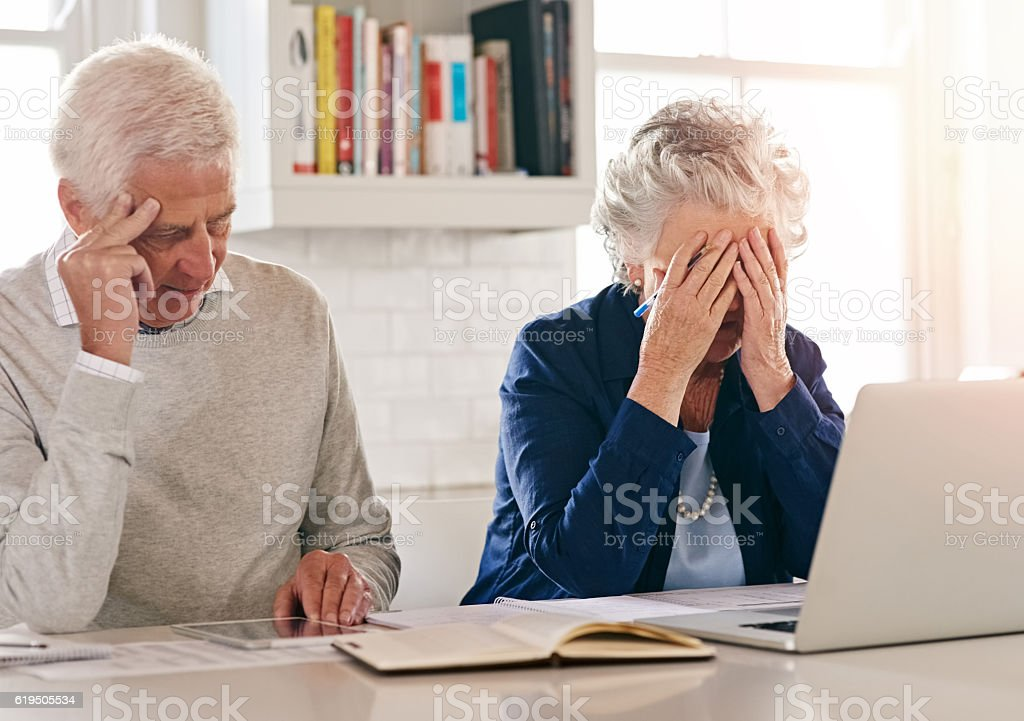 How are we going to get through all of this... stock photo