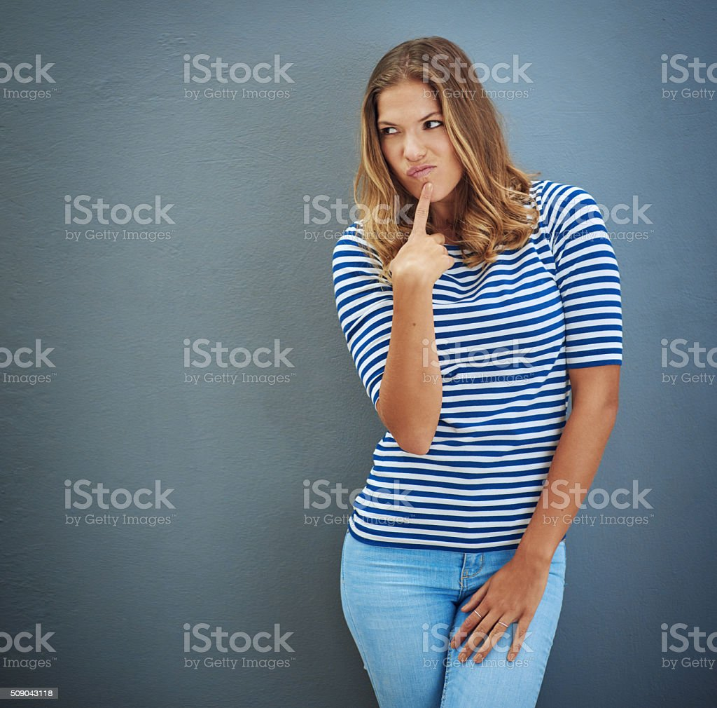 How 'bout no? stock photo