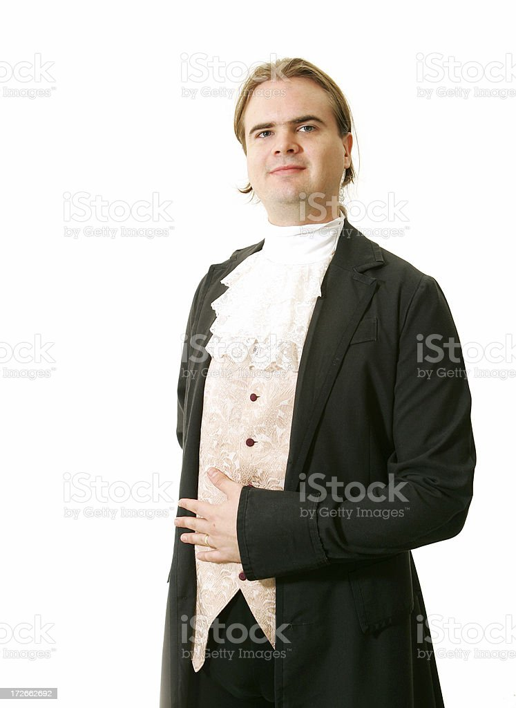 How Can I Help You Sir? stock photo