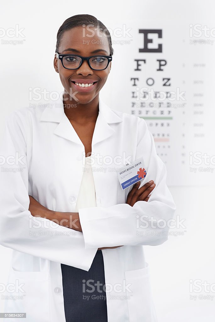 How clearly can you see? stock photo