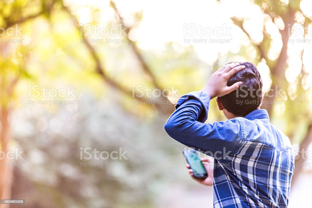 How did I get here? stock photo