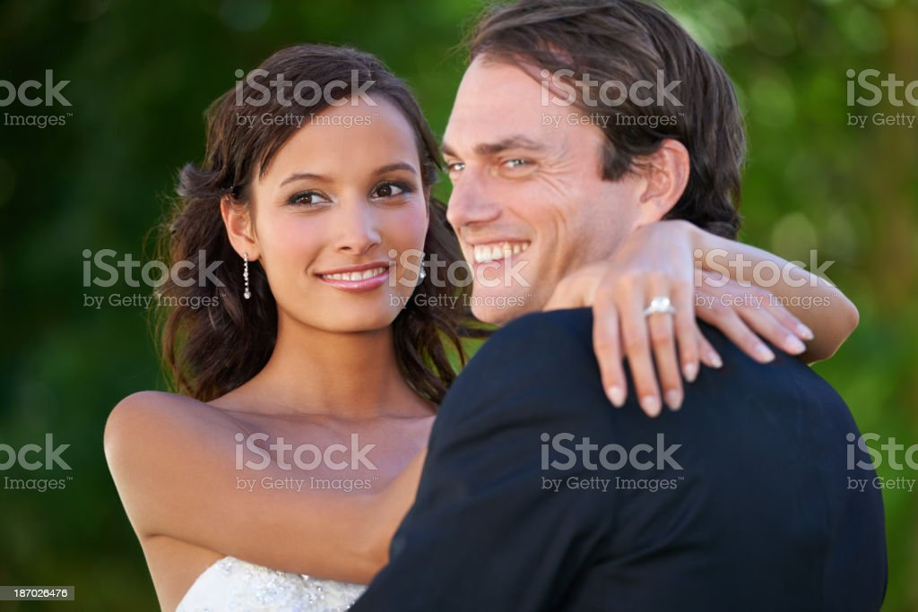 How did I get so lucky? royalty-free stock photo