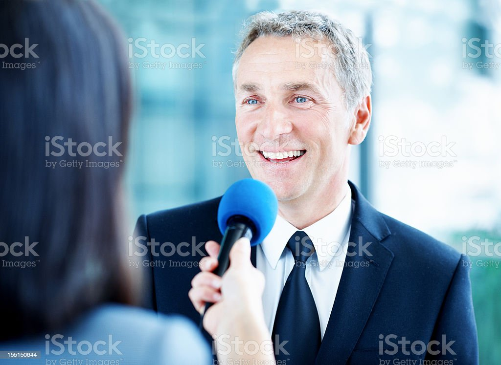 How did you become so successful? stock photo
