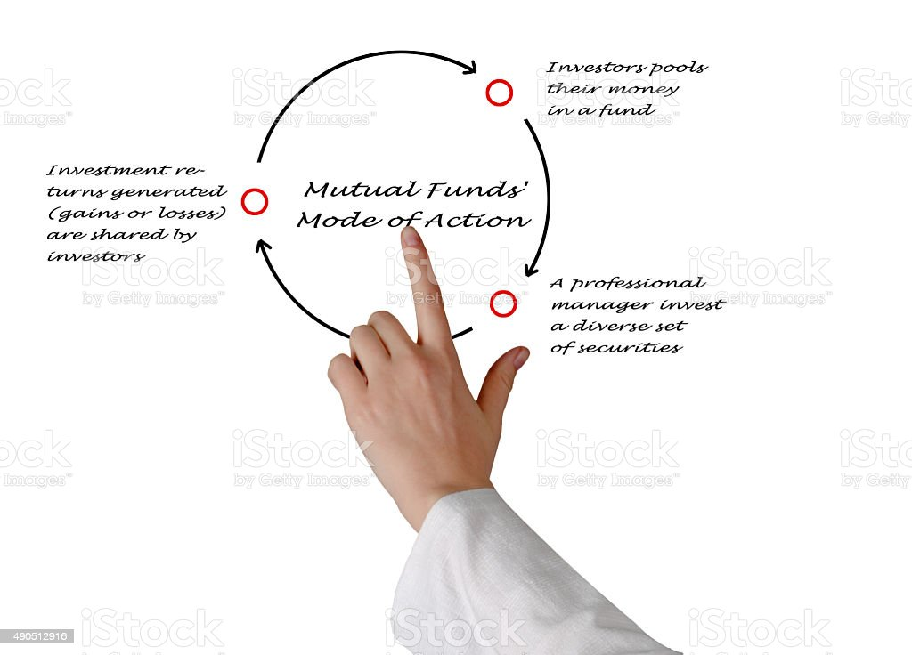How Do Mutual Funds Work? stock photo
