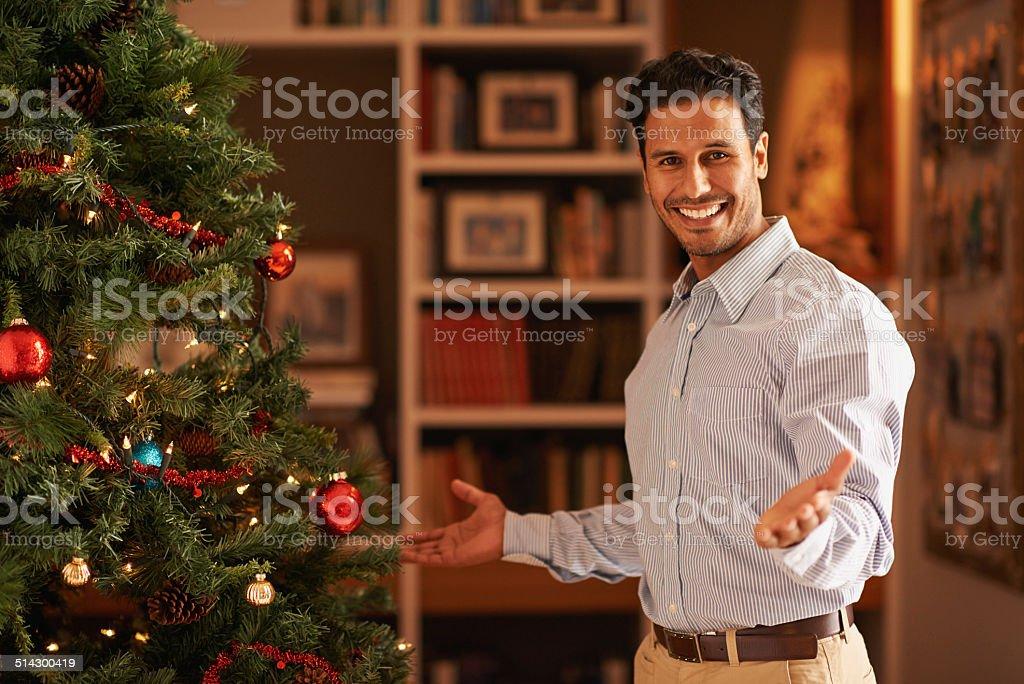 How do you like my decorating skills stock photo