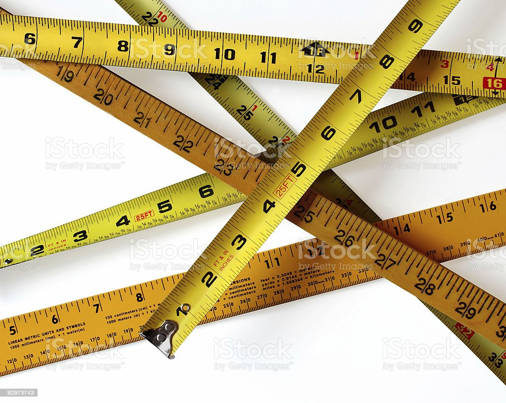 How Do You Measure Up 2 stock photo