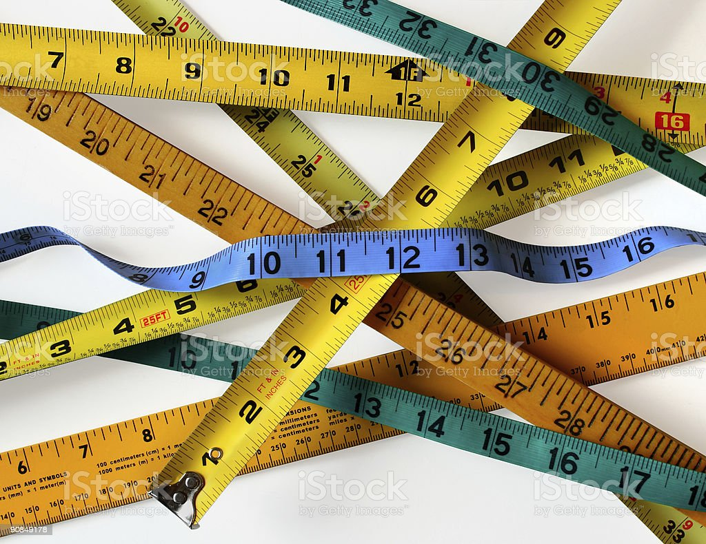 How Do You Measure Up royalty-free stock photo