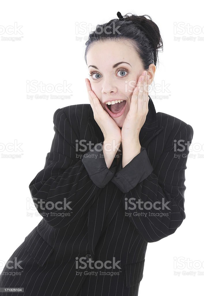 How Exciting! royalty-free stock photo
