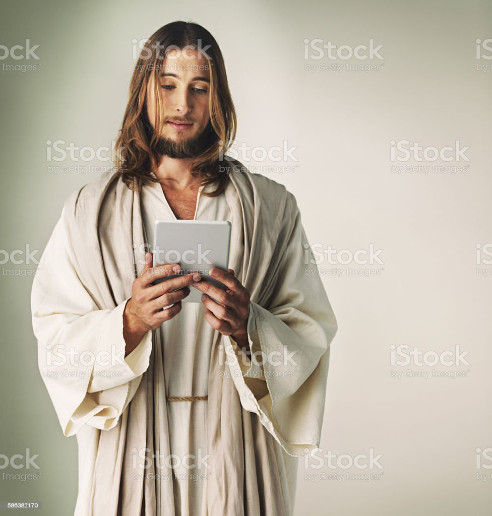 How many followers would Jesus have? stock photo