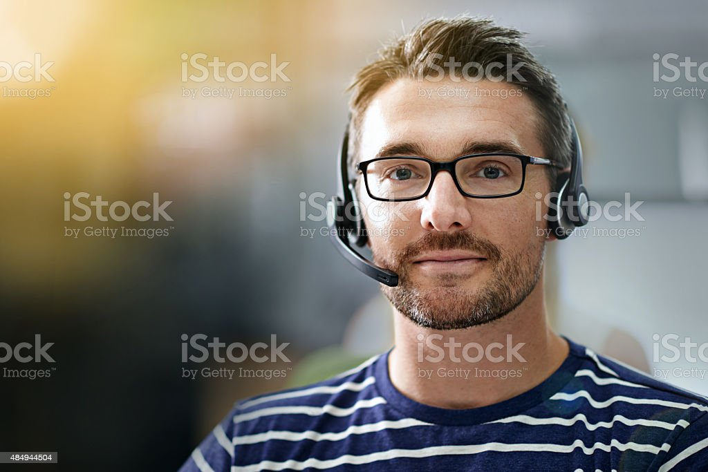 How may I direct your call? stock photo