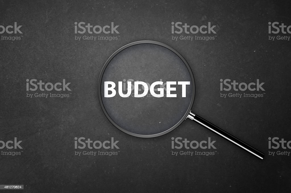 How much is the Budget? stock photo