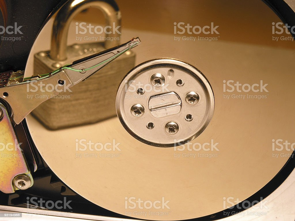 How Safe Is Your Data? royalty-free stock photo