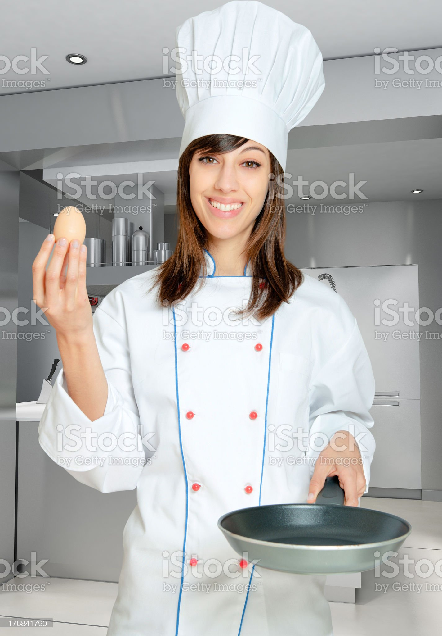 How to cook an egg royalty-free stock photo