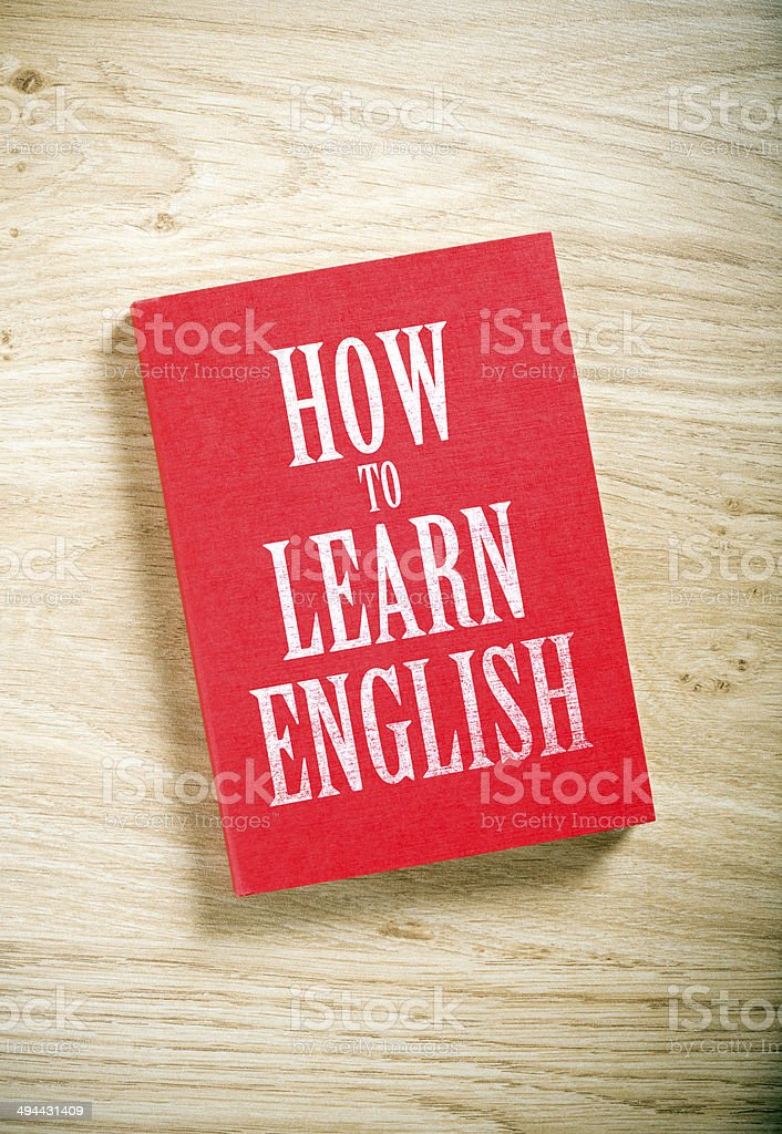 how to learn english stock photo