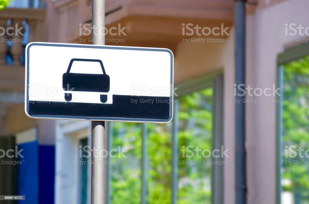How to park your vehicle stock photo