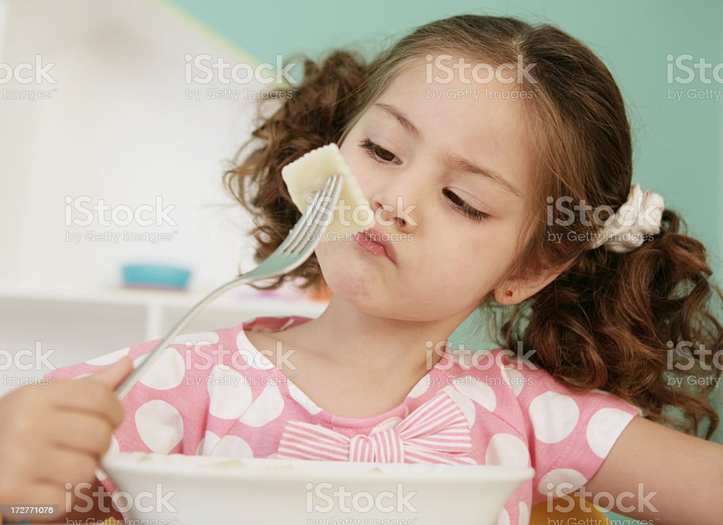 how to raise a good eater stock photo