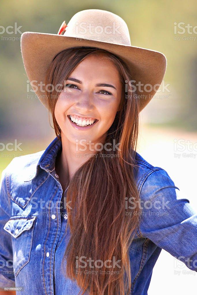 Howdy, partner! royalty-free stock photo
