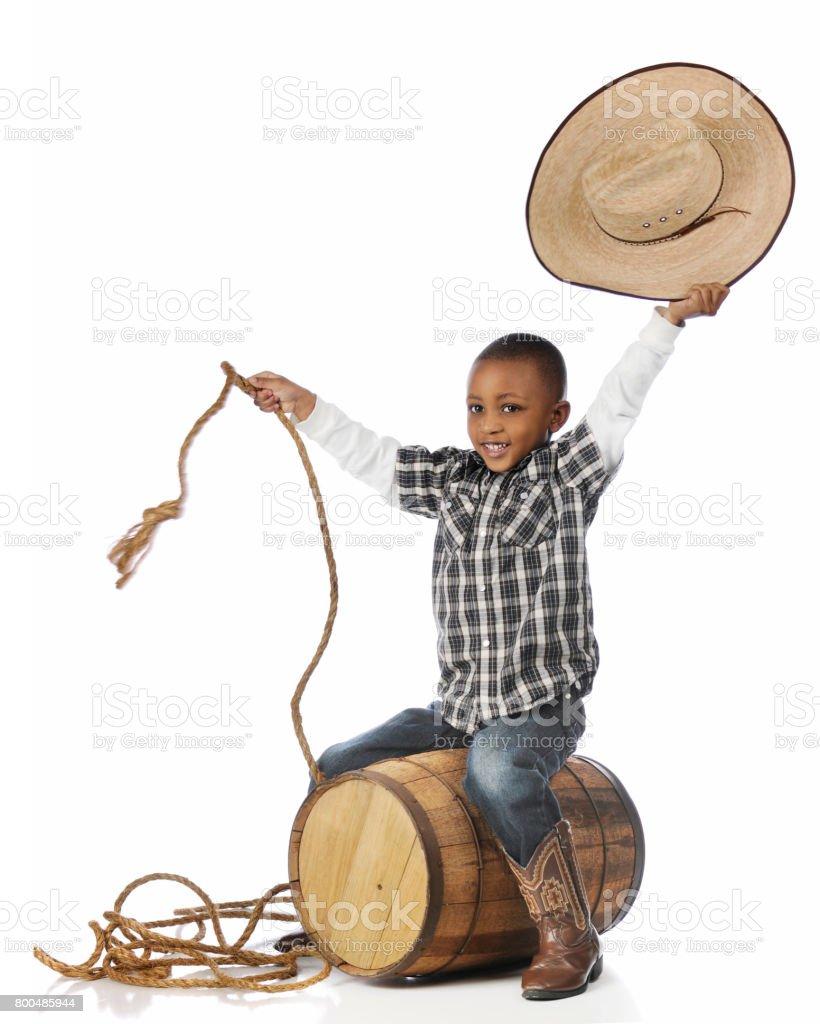 Howdy, Partner! stock photo