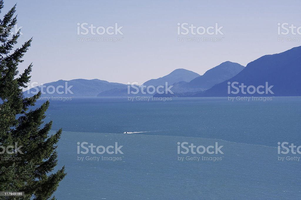 Howe Sound royalty-free stock photo